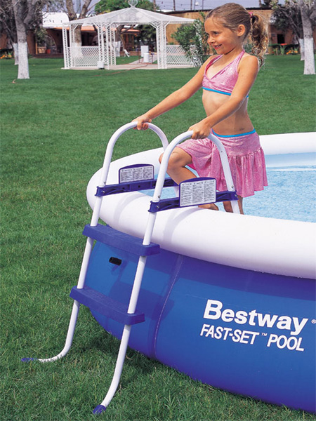 Bestway Above Ground Pool Ladder