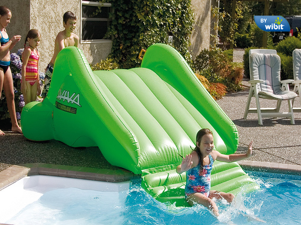 aviva sports astro inflatable pool slide - Inflatable Pool Slide