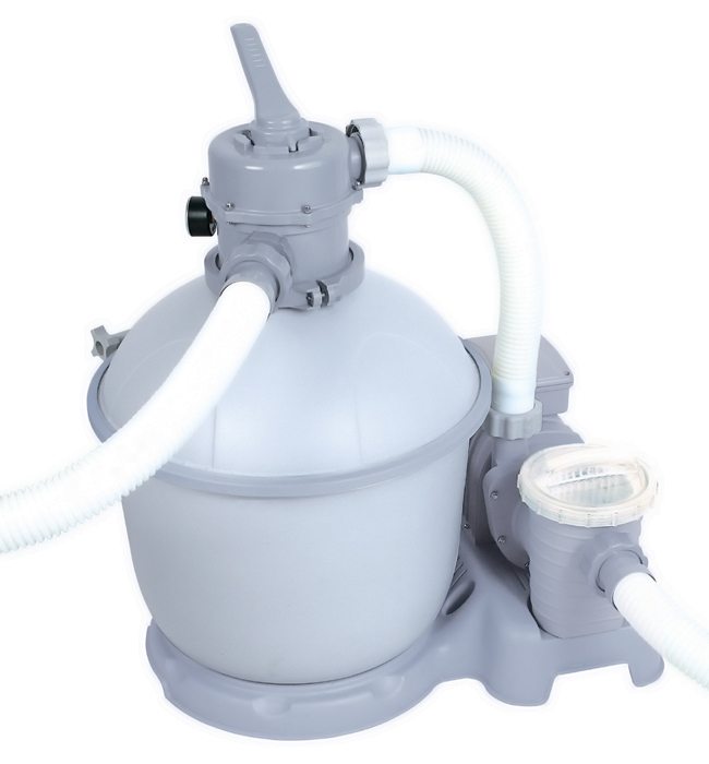 Bestway flowclear 1500 us gallon silica sand filter pump for Bestway piscine service com