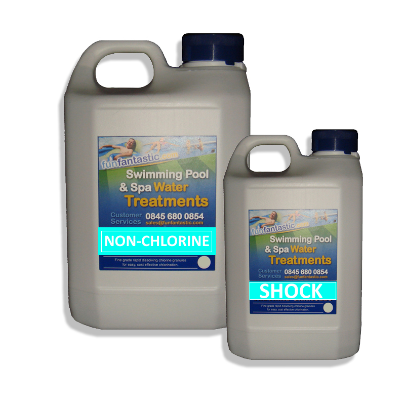 Non Chlorine Shock Granules Fun Fantastic Pool Spa Hot Tub Chemicals Potassium Monopersulphate