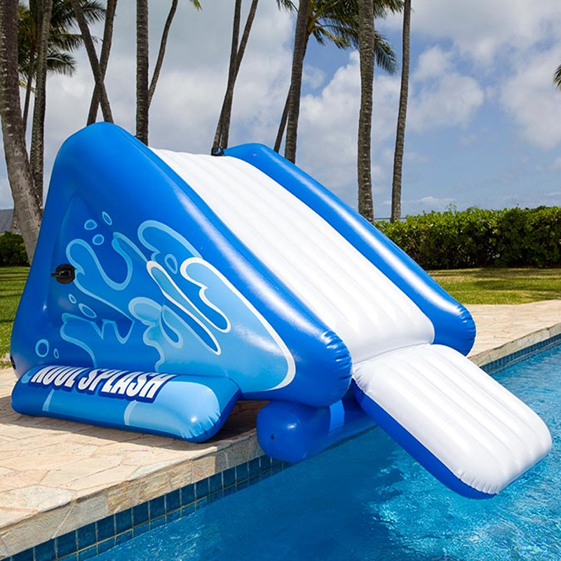 Intex inflatable slide in ground swimming pool toy Intex inflatable swimming pool