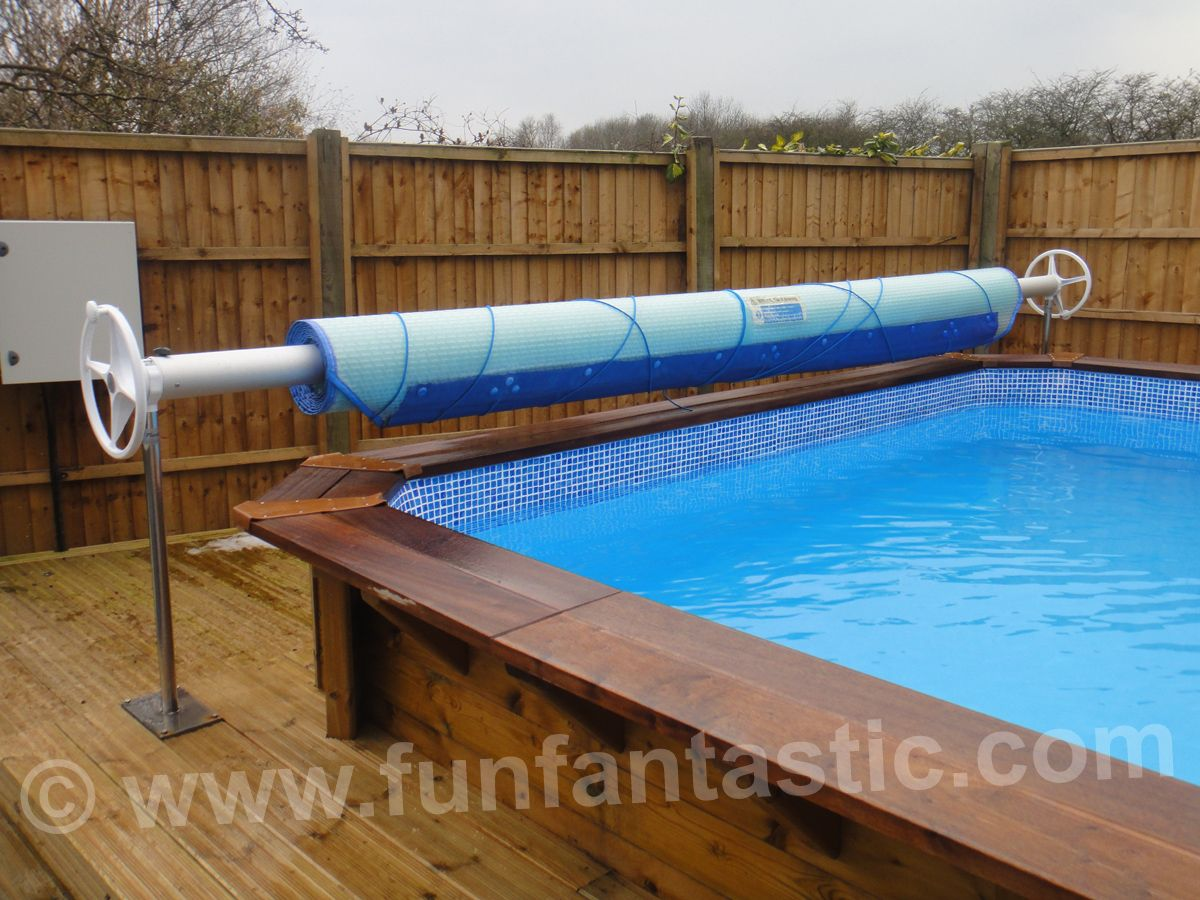 6m X Plastica Regent Wooden Rectangular Swimming Pool
