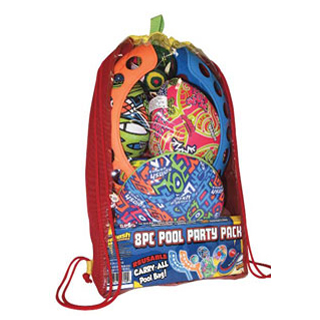 Pool Games Party Bag 8pc Set