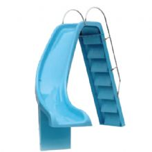 Country Leisure Swimming Pool Slide Left Hand Curved 7ft 6inch Chute