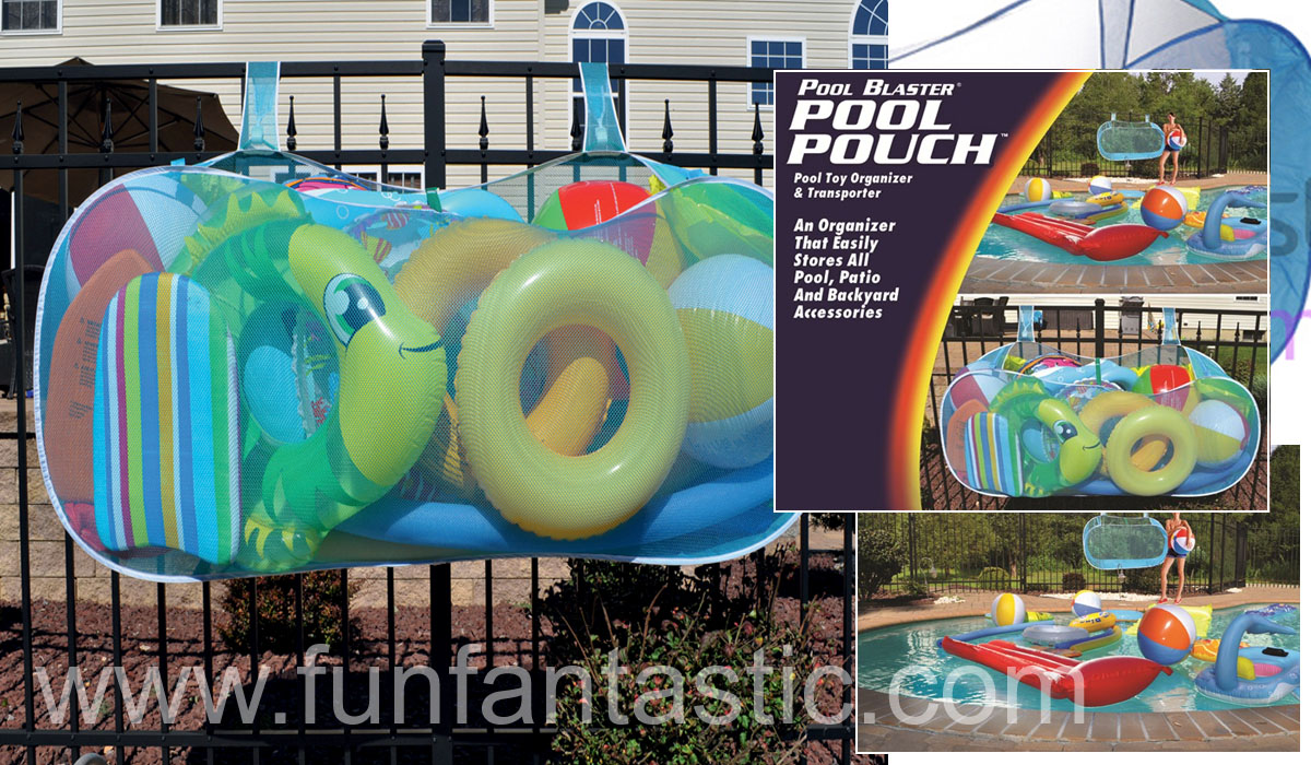 Swimming Pool Toy Inflatables Storage Pouch