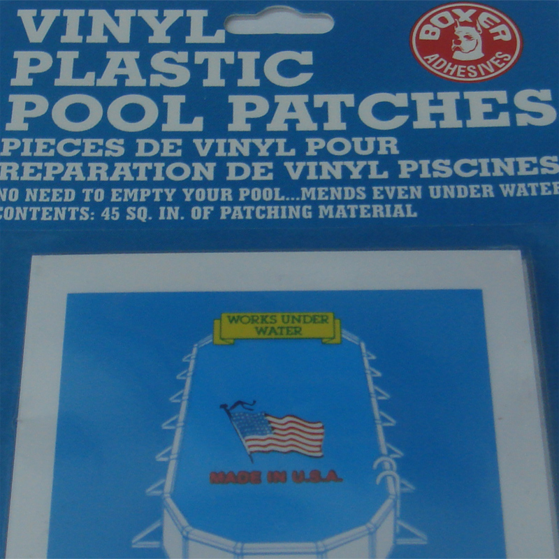 Small Underwater Vinyl Liner Pool Repair Patches