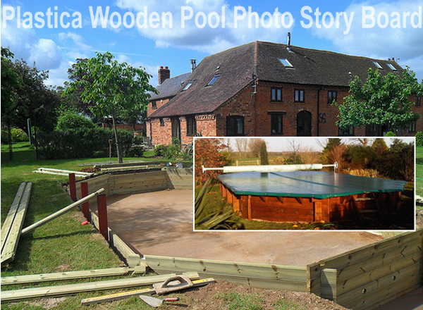 4m Plastica Wooden Pool Our Plastica Wooden Pool