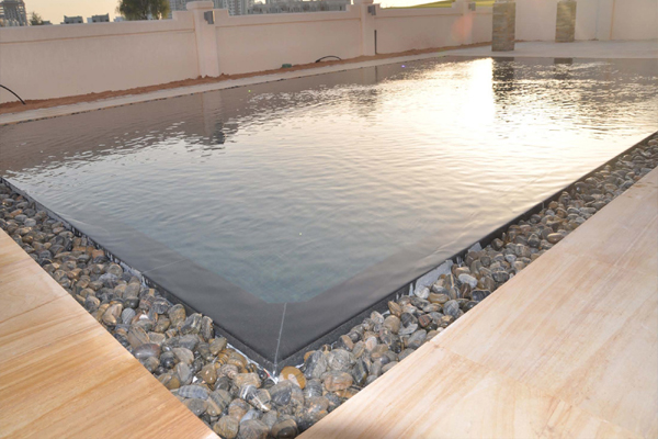 Signature pools spas for Overflow pool design